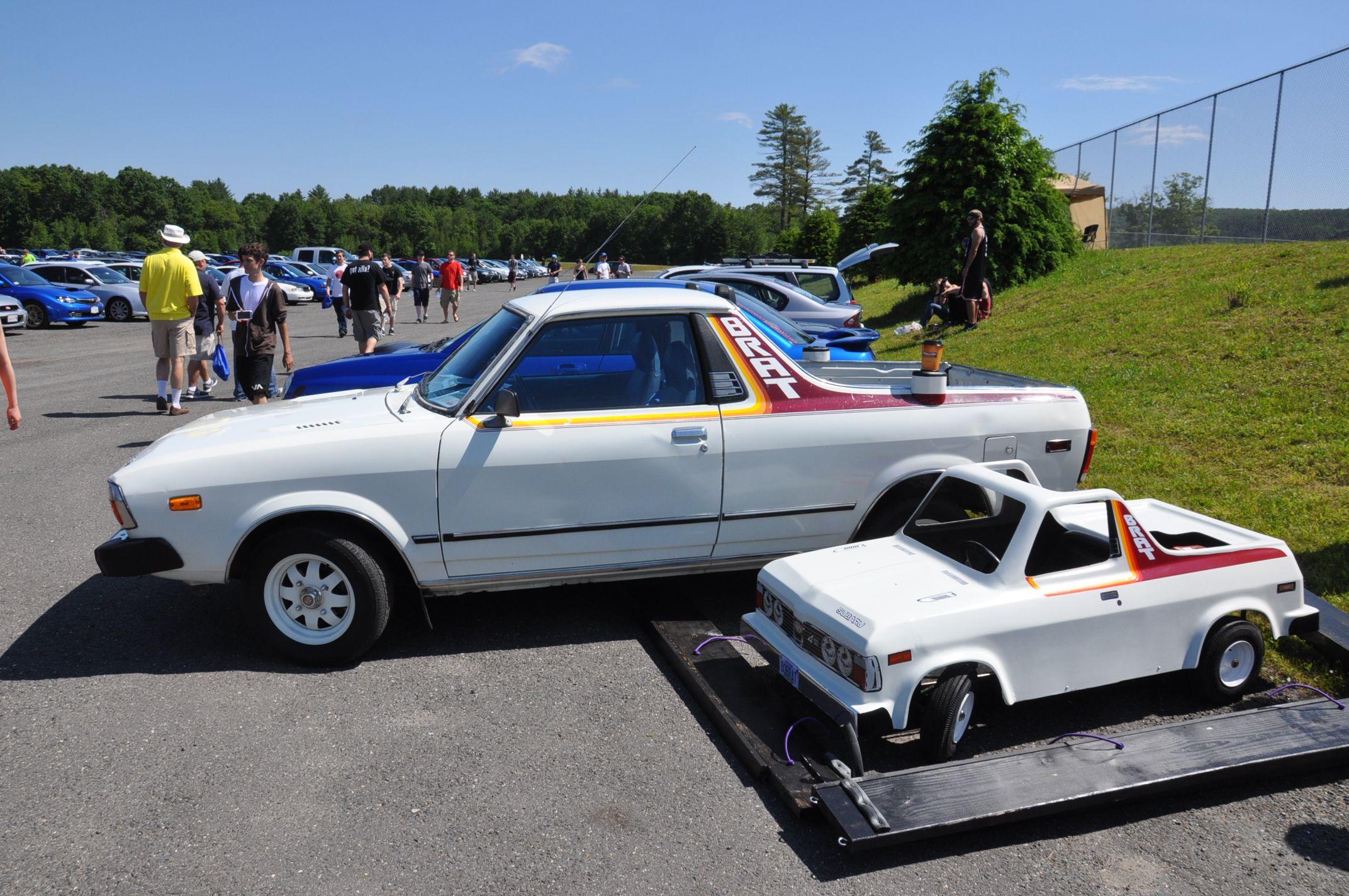 Subaru Brat & Mini Me Brat Wicked Big Meet