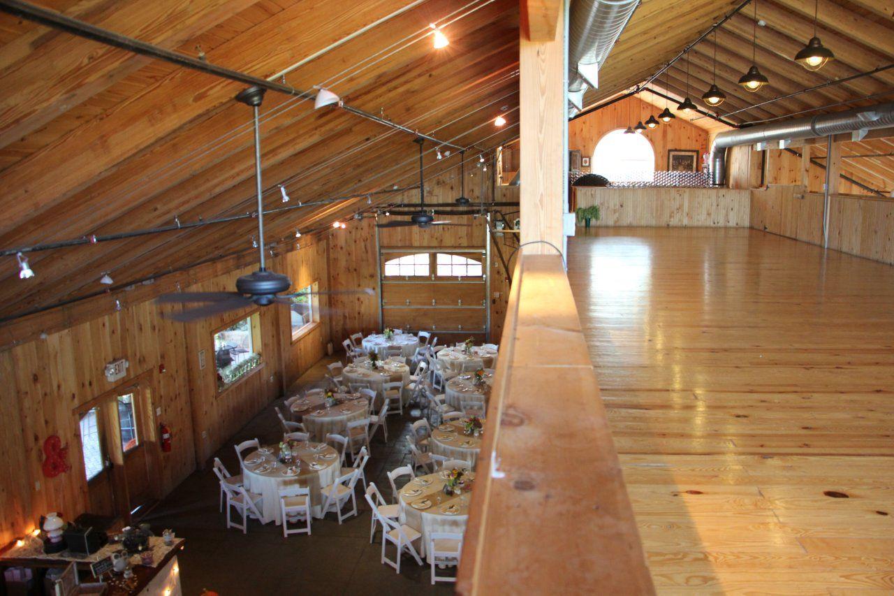 The Vintner S Ballroom Loft Rose Bank Winery In Newtown Pa Vintner Upstairs Loft Outdoor Deck