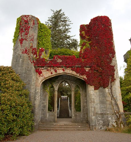 Clan Donald, Armadale Castle, Isle of Skye, one of the prettiest islands in the Hebrides/Scotland