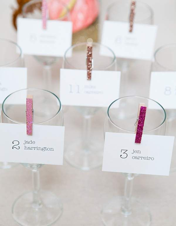 10 Easy Diy Place Cards You Can Make In A Day Diy Wedding
