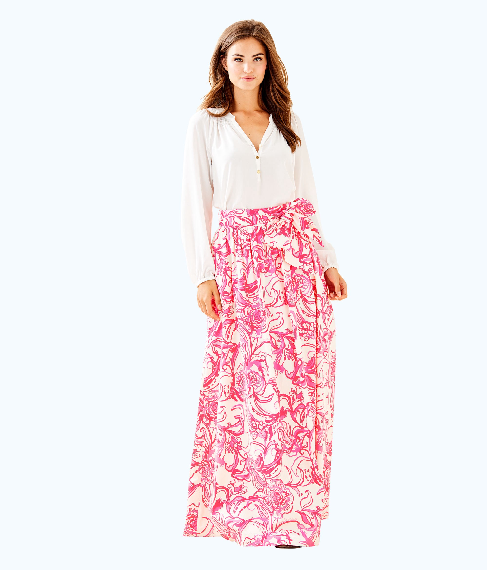 91849d3568 Lilly Pulitzer Goop X Maxi Skirt - 00 | Products | Lilly pulitzer ...