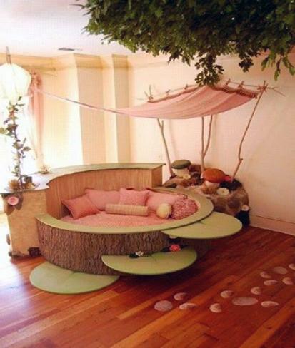 Kids Circle Beds