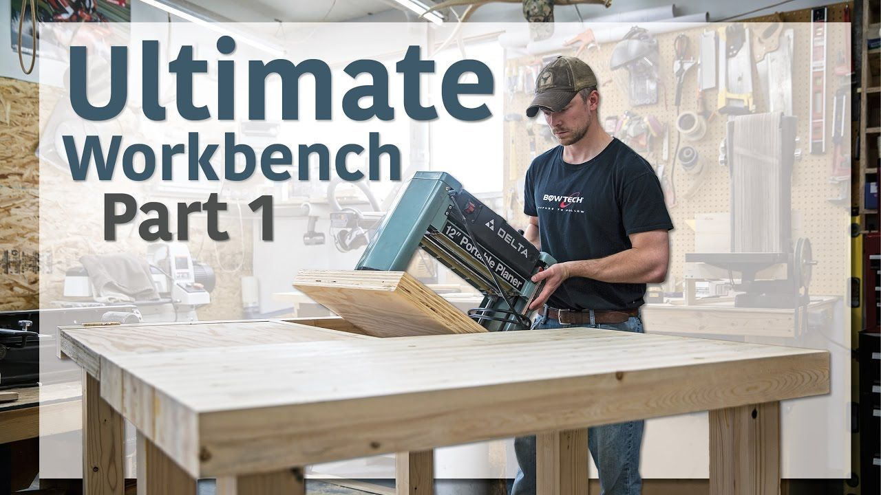 Double Flip Top Workbench Part 1 Of 3 Sounds Like A Good Pallet Project For The Shop Glen Cj Workbench Garage Workshop Plans Diy Workbench