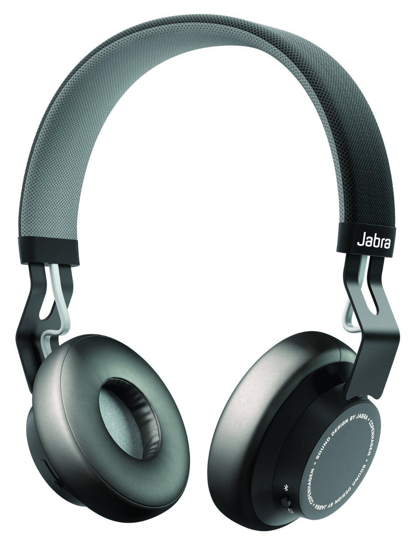 Jabra Move Wireless Bluetooth On Ear Headphones Black Amazon Co Uk Electronics Black Headphones Bluetooth Headphones Headphones
