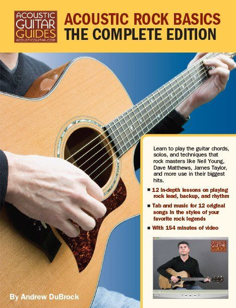 Excerpted from Acoustic Rock Basics Many of the best licks and riffs by artists…