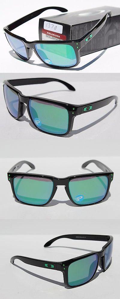 5d39200c39f3 ... authentic sunglasses 79720 oakley holbrook polarized sunglasses matte  black jade iridium new oo9102 40 53bd1 ebb96