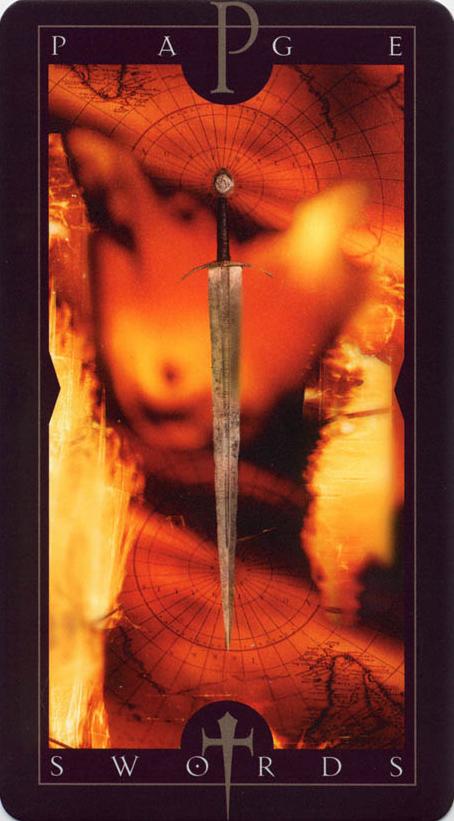 Vertigo Tarot: Page of Swords | Crafts | Page of swords