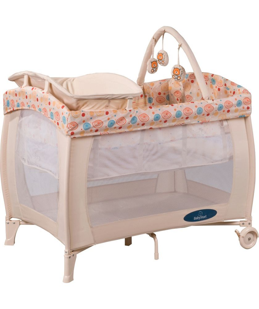 buy babystart deluxe travel cot natural at. Black Bedroom Furniture Sets. Home Design Ideas