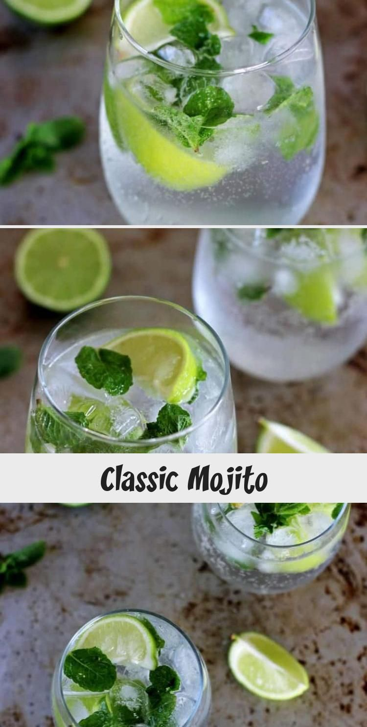 Classic Mojito My version of a classic mojito - my all time favourite cocktail, perfect for summer, holidays or honeymoons! Make one or make a pitcher to serve a crowd!