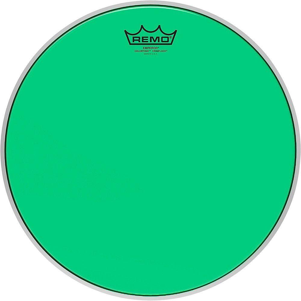 """Remo Emperor Colortone Green Drumhead 8/"""""""