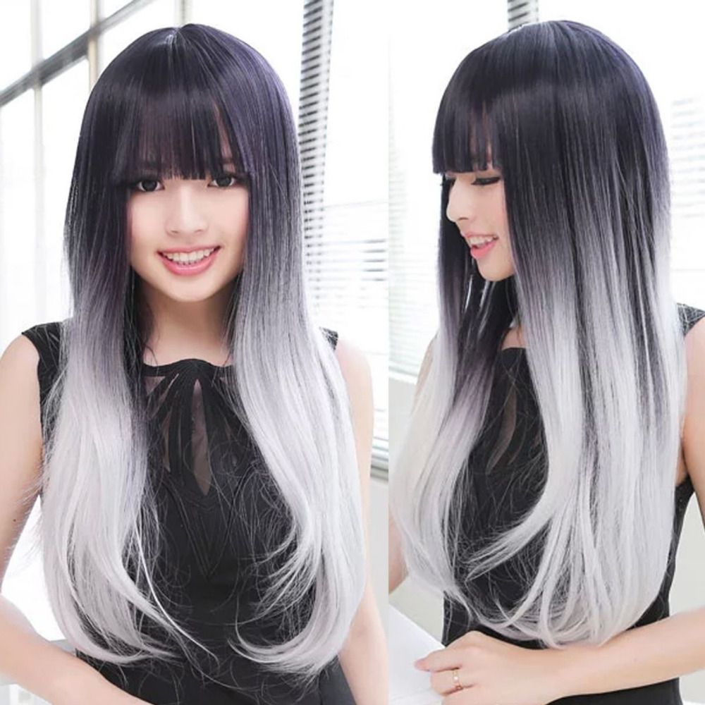 Compare prices on long grey hair online shoppingbuy low price