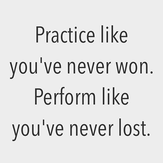 Reposting At Axtschmiede Practice Like Youve Never Won Perform Like