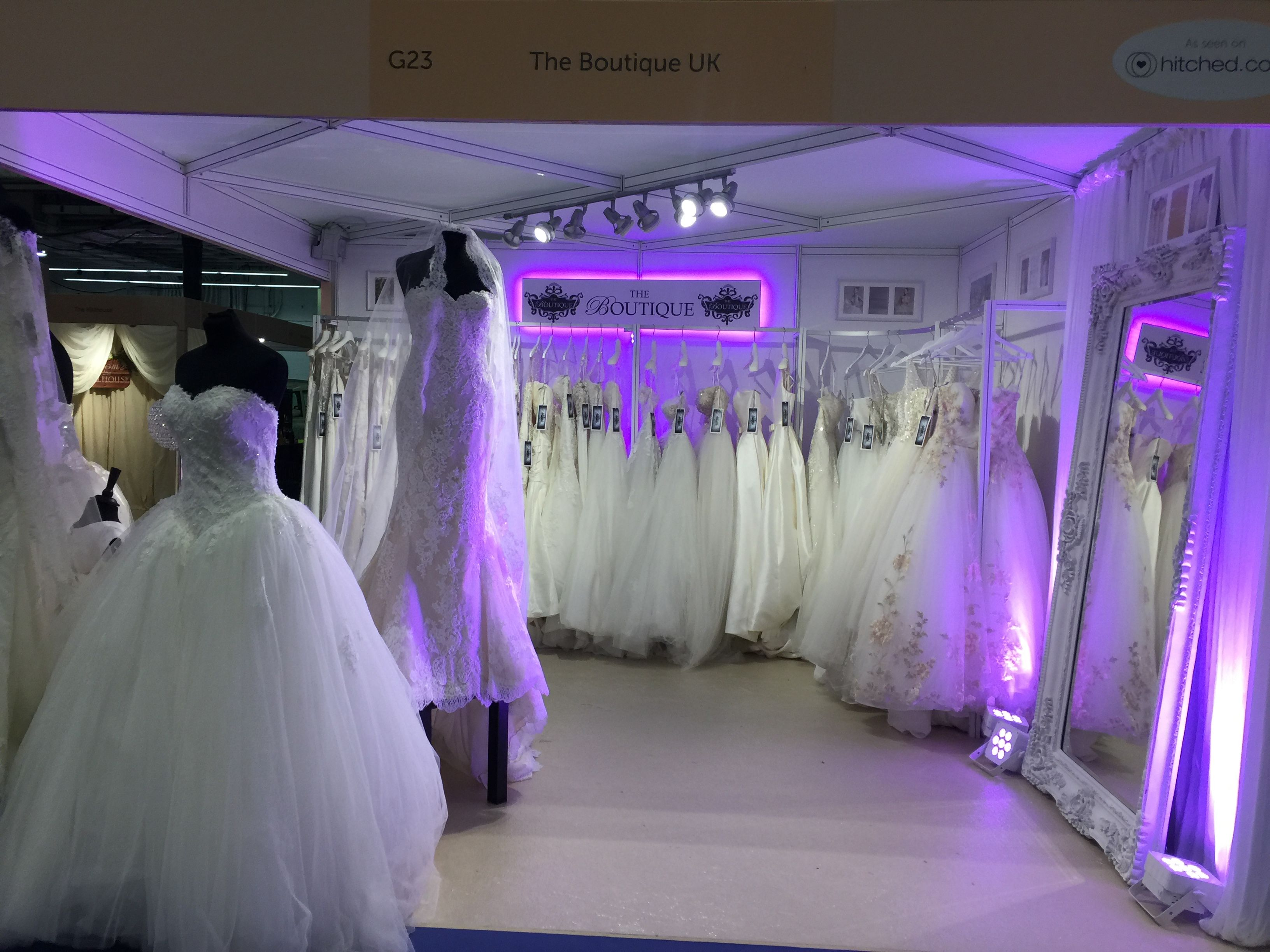 Our Stand At The National Wedding Show 2017 Www Theboutiqueuk 0208