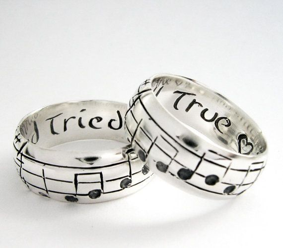 Your Song Wedding Rings Any Song One of a Kind by Myfavoritesong