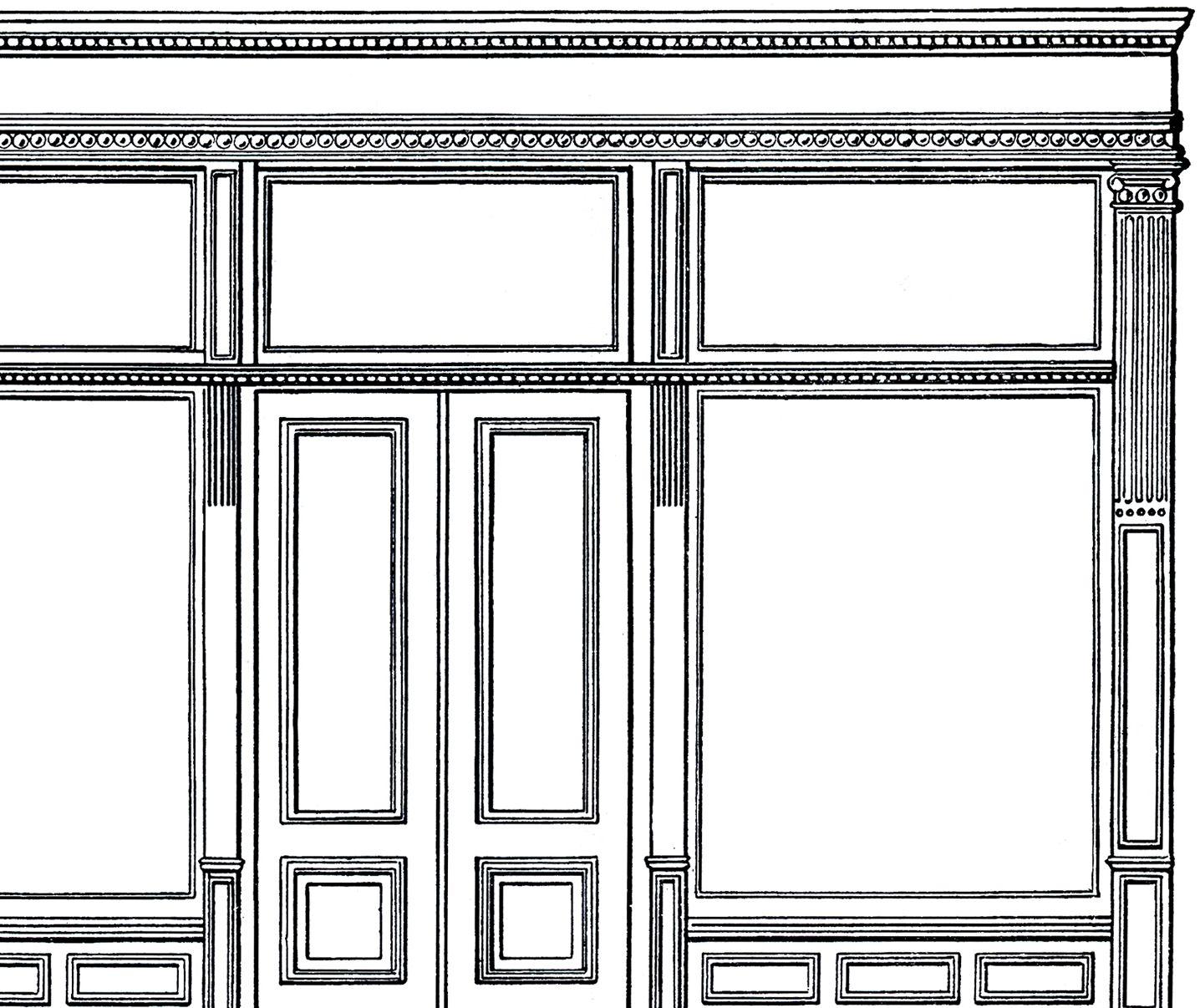 free architecture clip art store front store fronts clip art rh pinterest ca Unlock Door Clip Art Window Clip Art