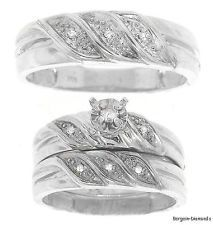 Bride And Groom Matching Wedding Bands