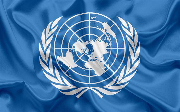 Descargar fondos de pantalla Bandera de las Naciones Unidas, bandera ...
