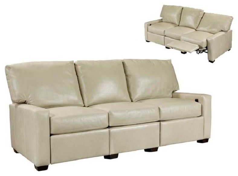 Incredible Leather Recliner Sofa Family Room Transitional With Bralicious Painted Fabric Chair Ideas Braliciousco