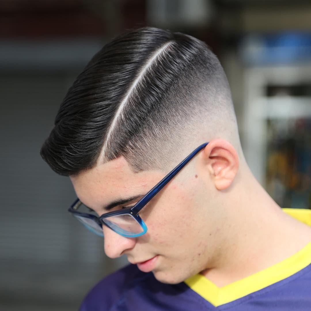 Men's hard part haircut haircut  undercut  pinterest  haircuts thin hair and face shapes
