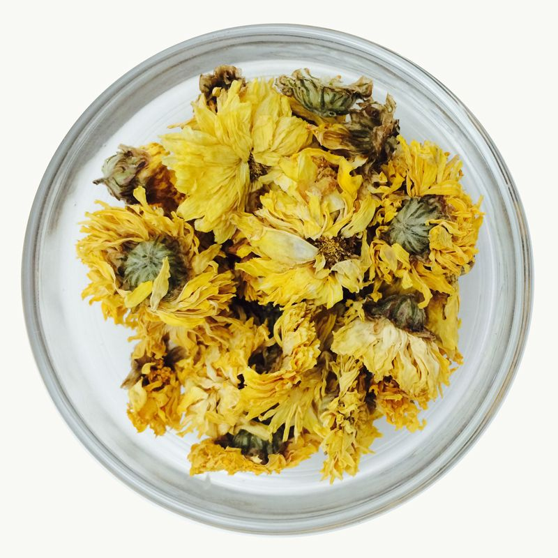 Yellow Chrysanthemum Flower Huang Ju Hua Yellow Chrysanthemum Chrysanthemum Flower Chrysanthemum