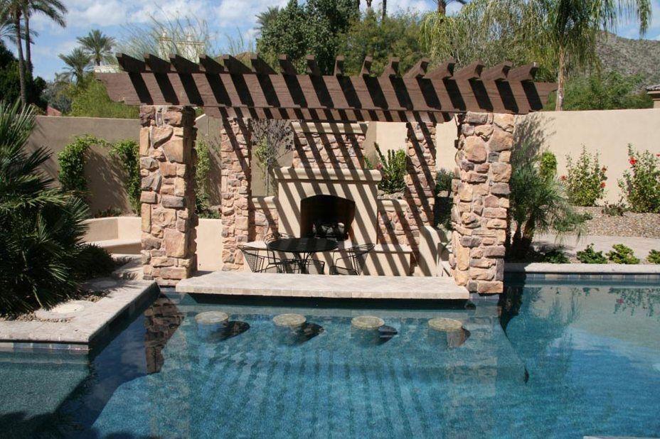 Residential Pool Bar