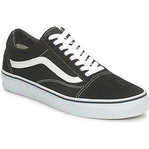 vans sneakers dames zwart
