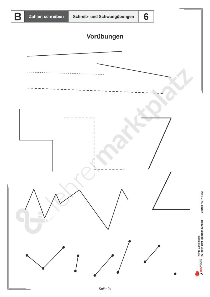 Kohls Zahlenkiste: Zahlen schreiben | Kohl Verlag | Pinterest