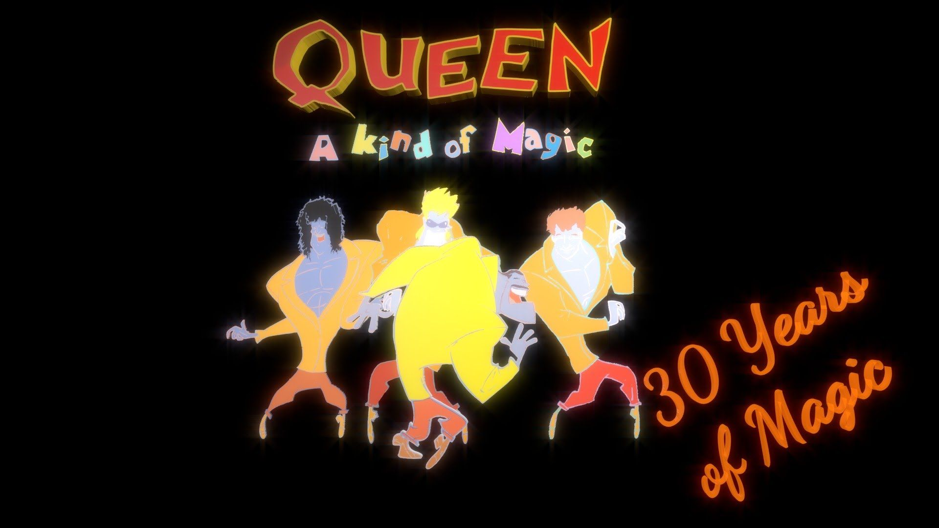 30 Years Of Magic Akom Queen A Kind Of Magic Celebration A Kind Of Magic Princes Of The Universe 30 Years