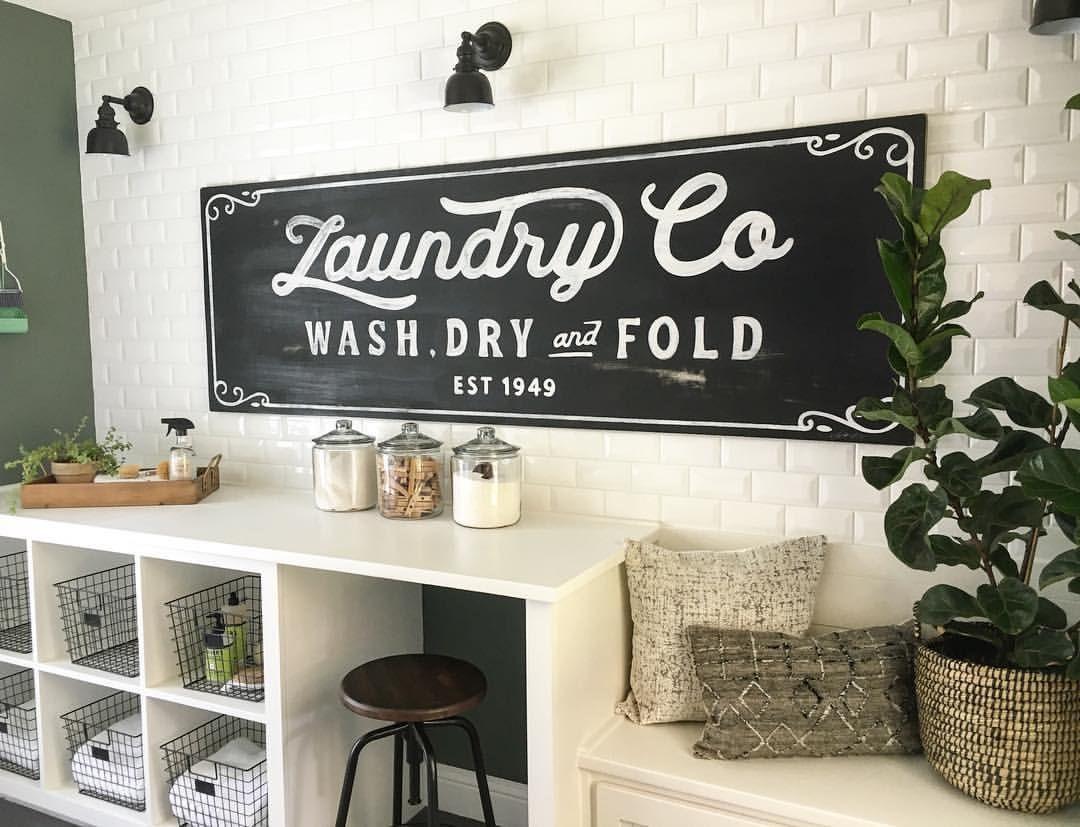 Vintage Laundry Room Signs Amusing Magnolia Market Sign  Laundry Room  Pinterest  Magnolia Design Decoration