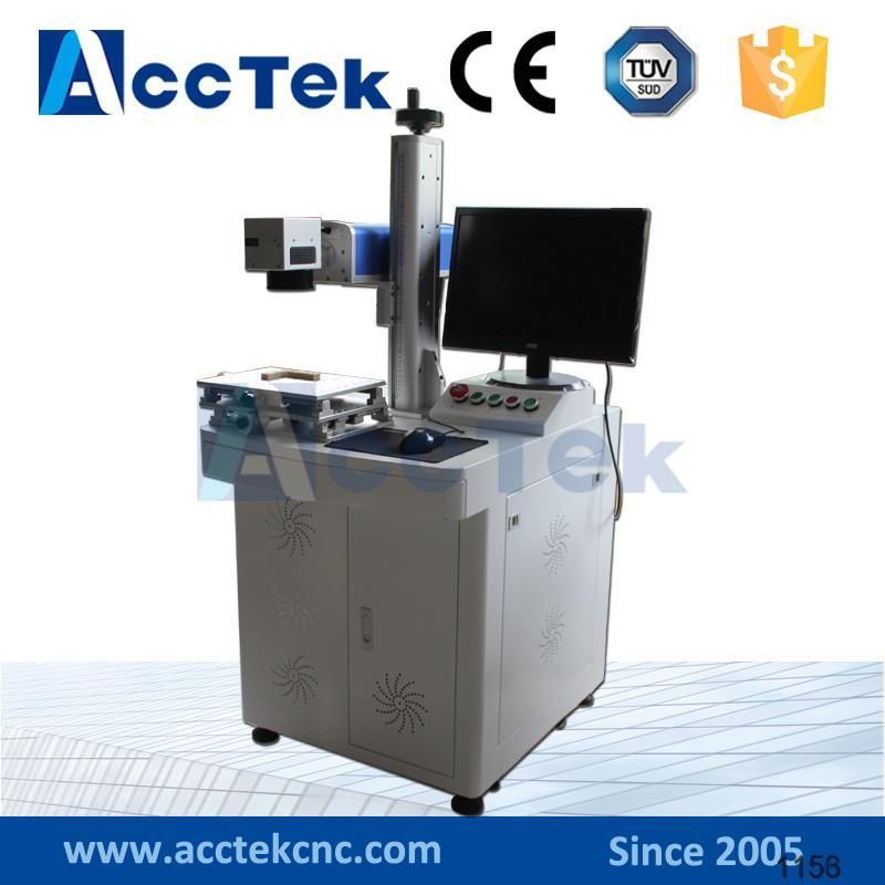 Usb Port 220v 110v 10w Fiber Laser Marking Machine Price Machine Laser Marking Wood Router Tools