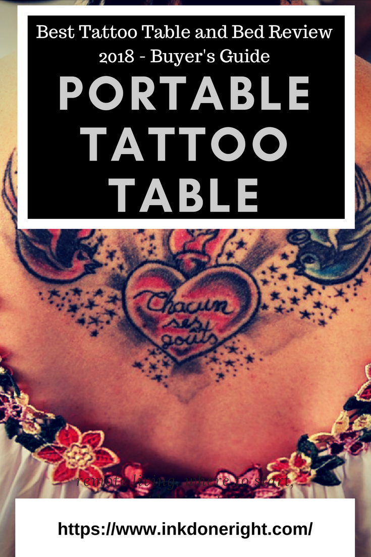 Best Tattoo Table and Bed Review 2018 - Buyer's Guide | InkDoneRight The  2018 Buyer's Guide to find the best Tattoo Table and Bed.
