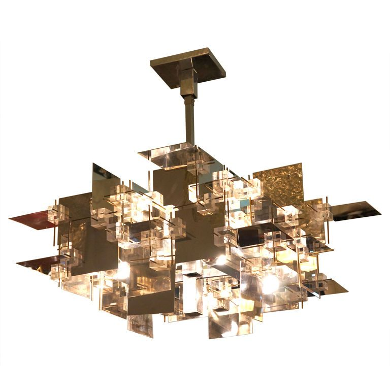 Rare Sciolari Chandelier | From A Unique Collection Of Antique And Modern  Chandeliers And Pendants At