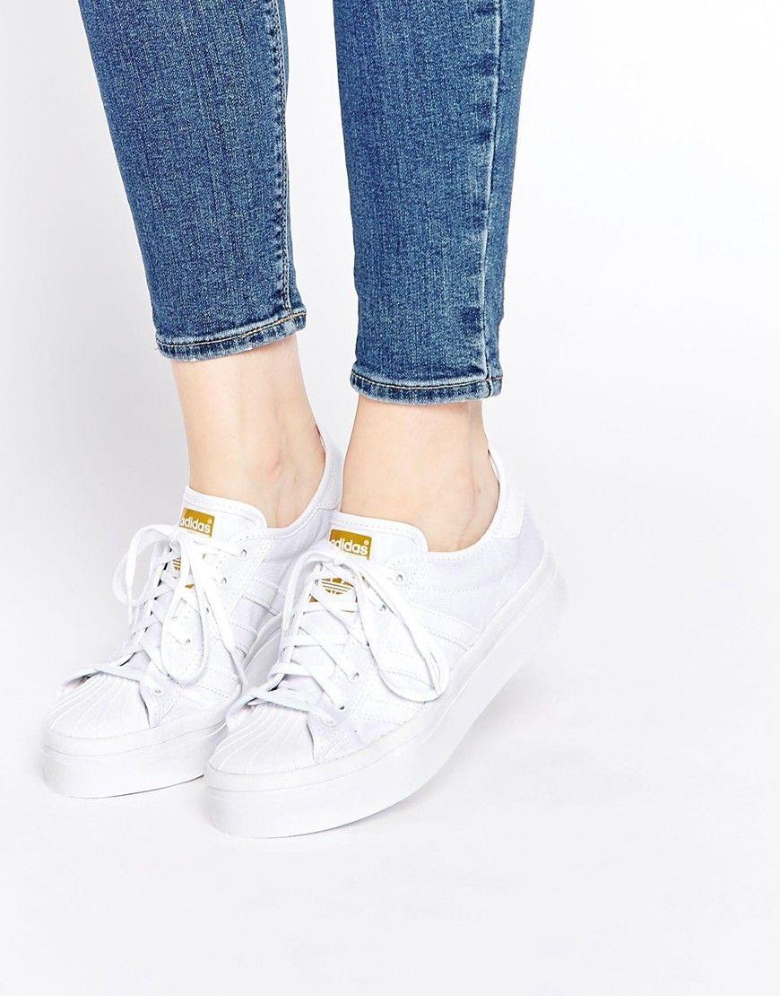 adidas Originals Superstar Rize White