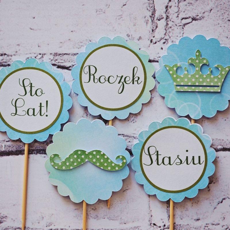 Piki Do Muffin Wzór Dekoracje Na Słodki Stół Dekoracje Urodzinowe