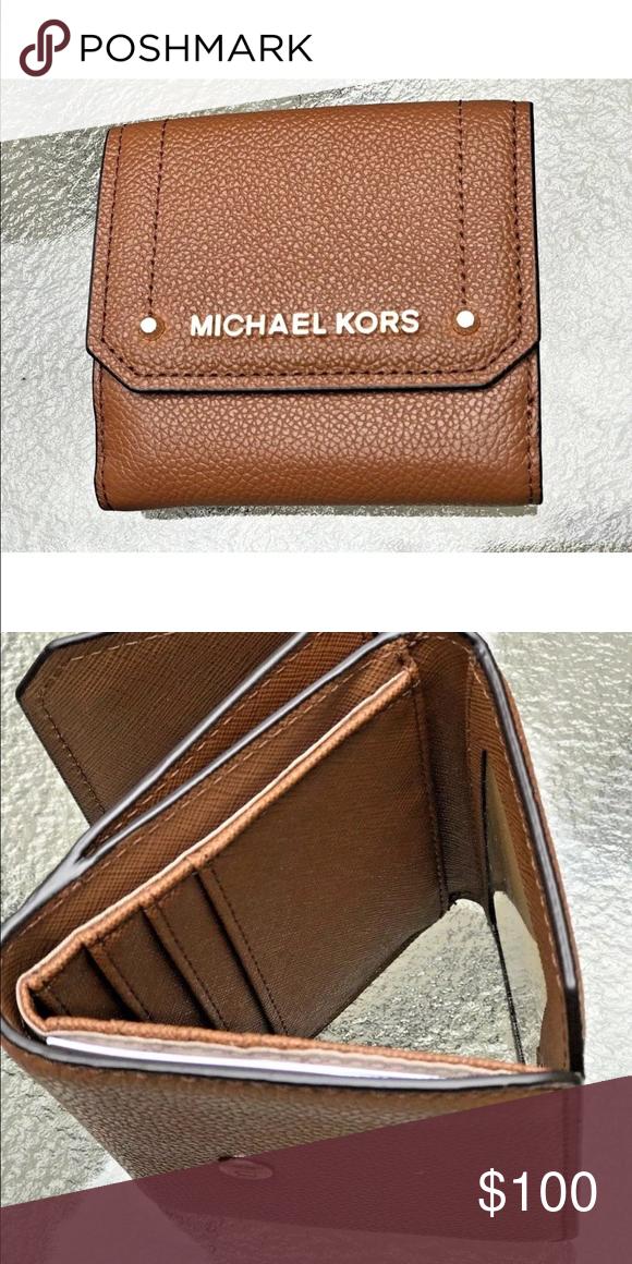 487d35fd0e5b MICHAEL KORS HAYES MED TRIFOLD COIN PURSE WALLET From MICHAEL Michael Kors  Hayes Collections