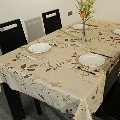 Pvc Garden Table Cloth,cloth Waterproof Oil Free Wash Table Glass Soft  Tablecloth Mat A 137x220cm(54x87inch) | Home Sweet Home | Pinterest