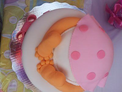 17 incre bles pasteles para baby shower de ni a babies - Ideas para baby shower nina ...
