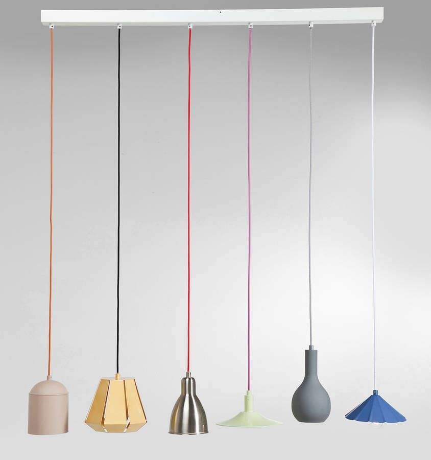 Colour pop six string dining pendant lamp dining pendant pendant colour pop six string dining pendant lamp aloadofball Image collections