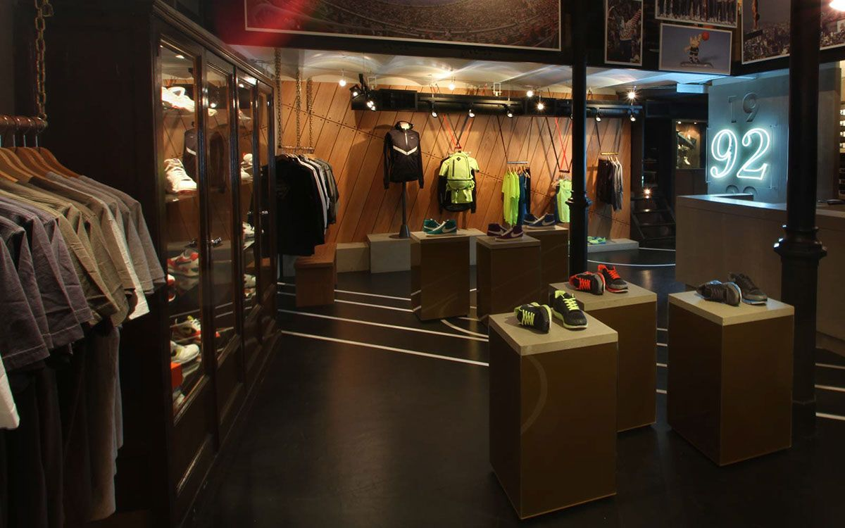 boutique nike a barcelone