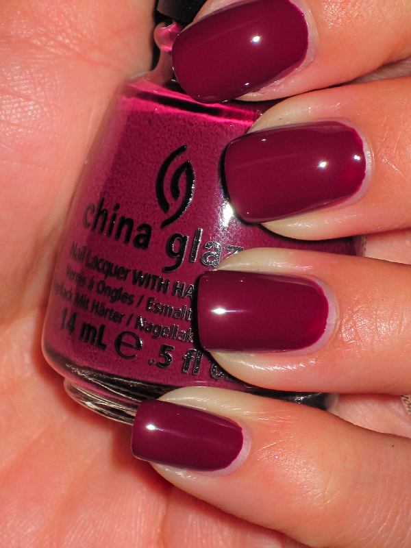 China Glaze-Purr-fect Plum | Hair and Make-up | Pinterest | China ...