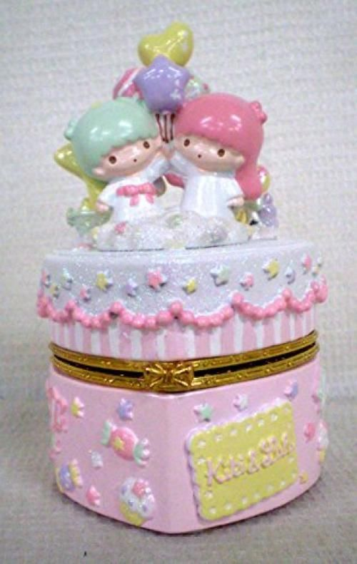 New Little Twin Stars decoration glove compartment Jewelry Box