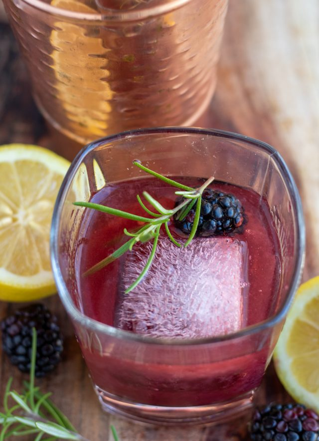 Photo of Blackberry Rosemary Whiskey Smash – Wine a Little, Cook a Lot