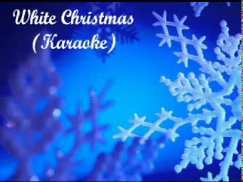 white christmas karaoke youtube - Blue Christmas Karaoke