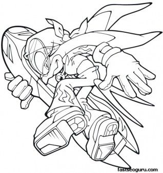 Printable Sonic The Hedgehog Wave Coloring Pages Printable Coloring Pages For Kids Coloring Pages Free Kids Coloring Pages Color