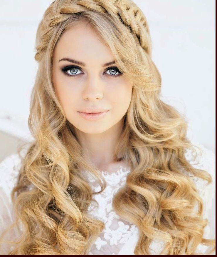 Wedding Hairstyles With Bangs For Long Hair: Long-curly-wedding-hairstyles-with-bangs