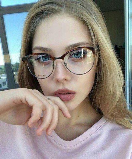 Brillengestelle süße Gesichter 45 trendige Ideen