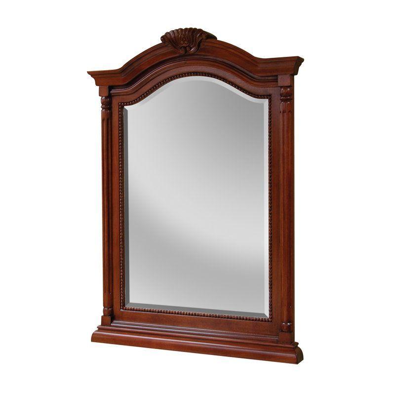 Foremost W2635 Wingate Bathroom Mirror Deep Cherry Accessory Mirror