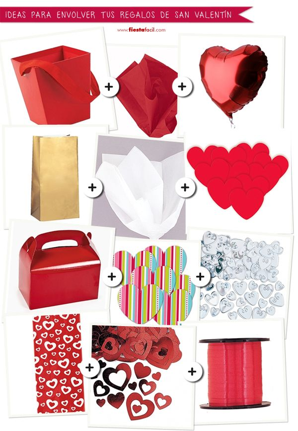 Ideas para envolver tus regalos para san valent n tarjeter a pinterest - Ideas para sanvalentin ...
