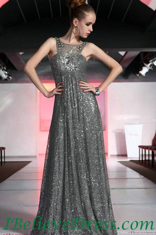 High Neck Modest Sequin Evening Prom Gowns For Sale,High Neck Modest ...