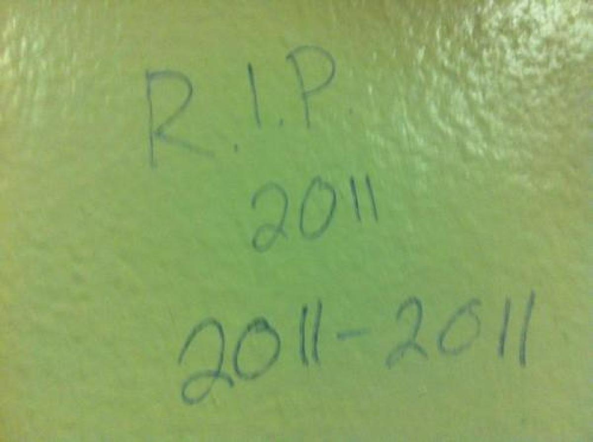 Bathroom Stall Wisdom photos: oddly intelligent bathroom graffiti | bathroom stall